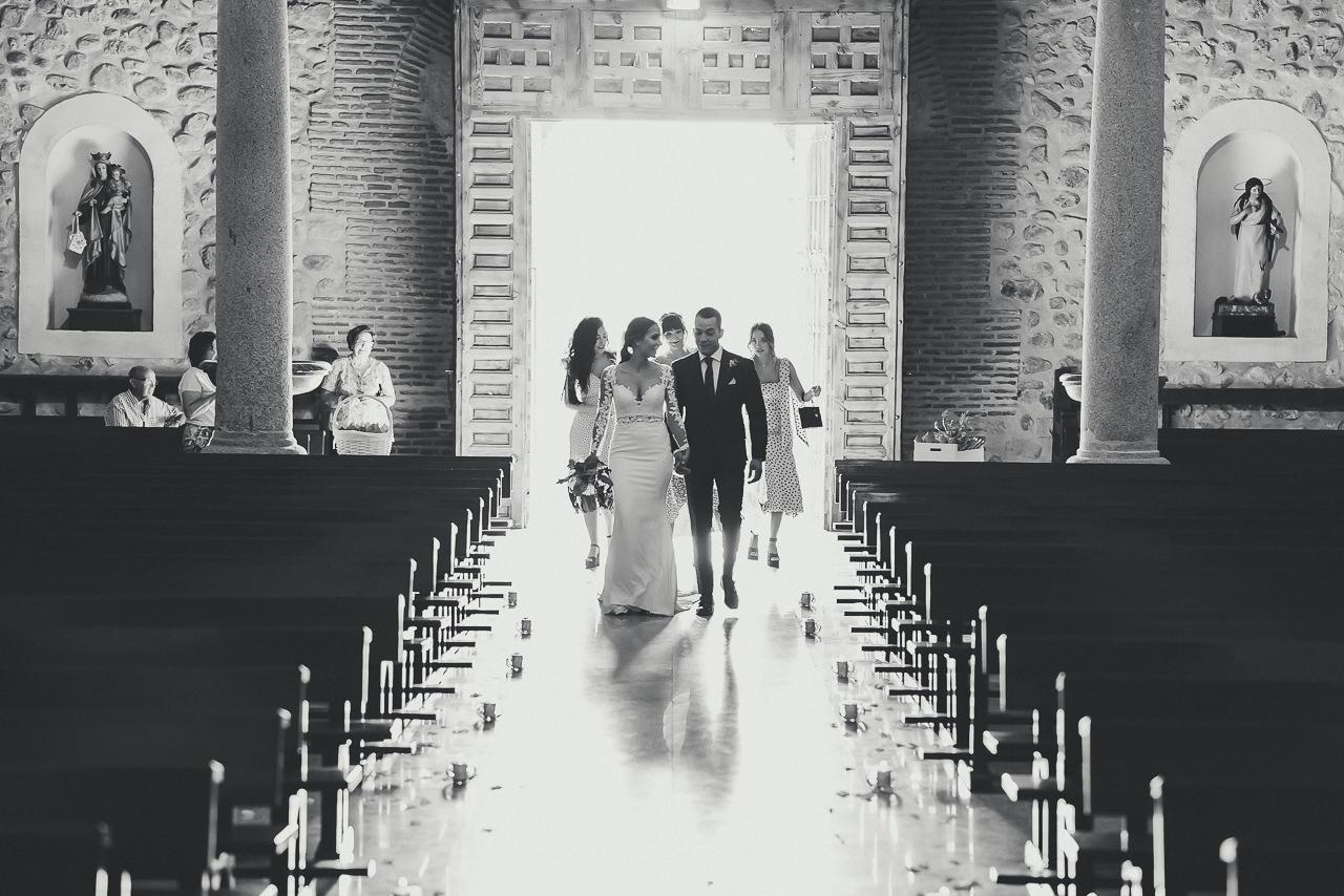 Entrada Iglesia Novia